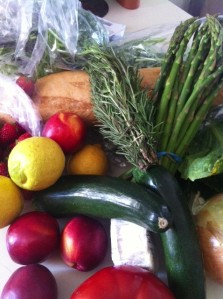 Farmers Market Haul for May 12, 2013.